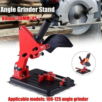 100-125mm Angle Grinder Stand Grinder Holder Cutter Support Cast Iron Base Sale
