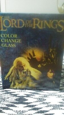 The Lord of the Rings Color Change Glass Cup Loot Crate Exclusive August 2017