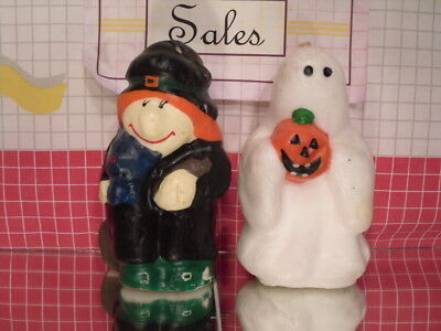 Witch & Ghost Halloween Candles