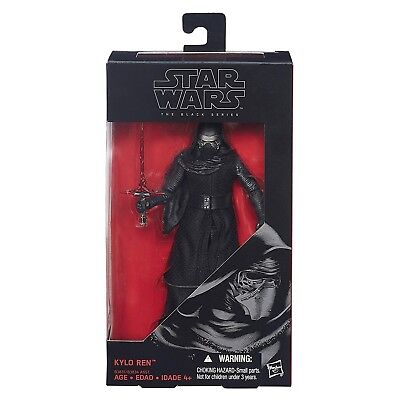 Star Wars The Force Awakens Black Series 6-Inch Kylo Ren Action Figure NEW