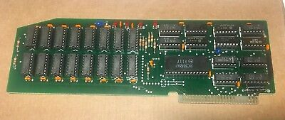 Apple II Computer Saturn 128K Memory Expansion Card  -  RAM card clone - Rare