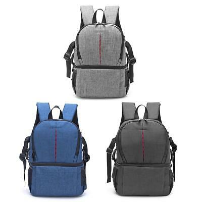 DSLR Photo Camera Waterproof Oxford Fabric Shoulders Backpack SLR Case Bag