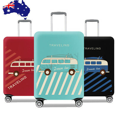 18-32'' Elastic Travel Luggage Protector Suitcase Cover Bag Dustproof S/M/L/XL