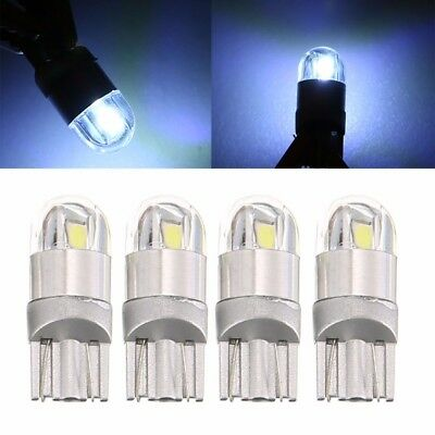 4 x T10 Bulbs W5W 501 Canbus Lights LED COB SMD 3030 Bright White Car Error Free