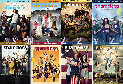 New & Sealed! TV Shameless Complete Seasons 1 - 8 DVD