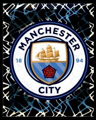 Merlin Premier League 2019 - Club Badge Manchester City No. 199