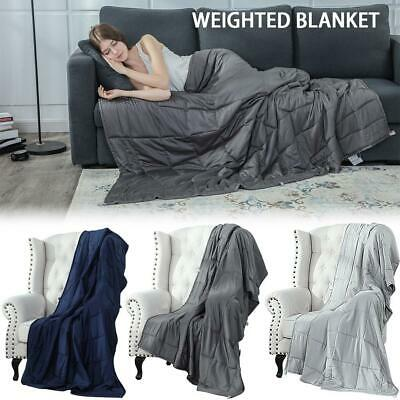 Thicken Weighted Anxiety Cotton Blanket Best Heavy Blanket For Adults And Kids