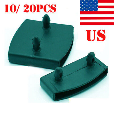 10/20PCS Black Replacement Bed Slat Plastic Centre/ End Caps Holders 9x55mm US