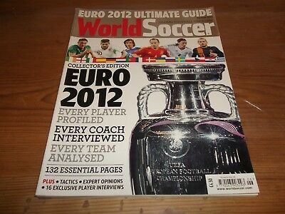 Football Magazine World Soccer Summer 2012 Ultimate Guide Euro 2012 Collectors