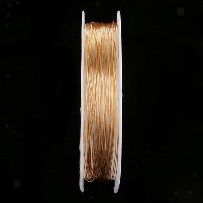 1 Roll Multi-Function Copper Wire 3 Sizes For Home Use Repair Job Handicraft