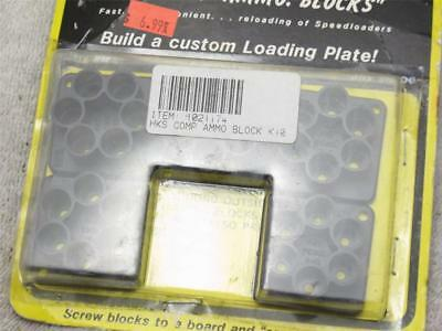K10 5-Pack HKS Speedloader Ammo Blocks for S&W 38/357 K Frame COLT Detective Spl