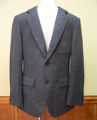 JCrew  750 Ludlow Fielding 3 Bttn Suit Jacket Heathered English Wool 41R  Grey 815d0f7de