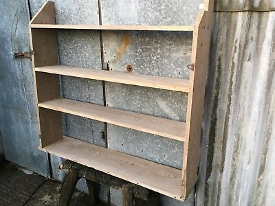 112.8cm X 124cm Reclaimed Solid Old Pine Dresser Top With Four Shelves