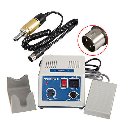 New Dental Lab Marathon Electric Micromotor N3 35,000 rpm Handpiece Gold FDA Ca
