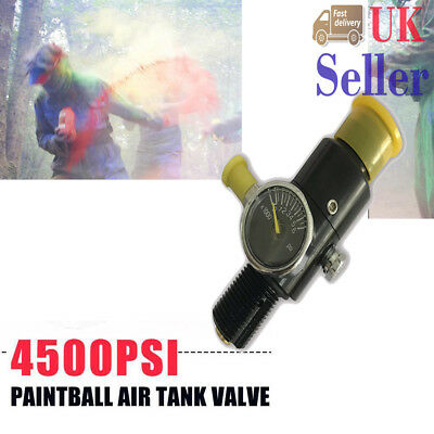 Paintball 4500psi High Compressed HPA Air Tank Regulator Output Pressure 800psi
