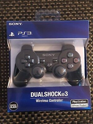 Brand NEW Sony PlayStation 3 PS3 DualShock 3 Wireless SixAxis Controller Black
