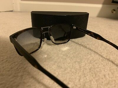 NEW PRADA SUNGLASSES SPR01R TKT 3C2 57MM Havana dark havana