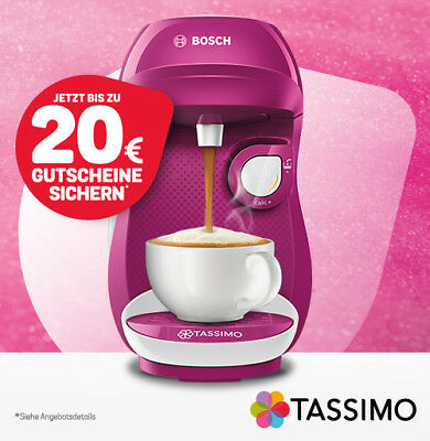 Bosch Tassimo Kaffeeautomat Happy Wild Purple