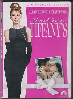 Breakfast at Tiffanys Anniversary Edition Audrey Hepburn Special Edition DVD