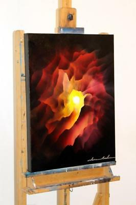 Large Original Modern Abstract Fine Art Exhibited Oil Painting Tara Baden Signed