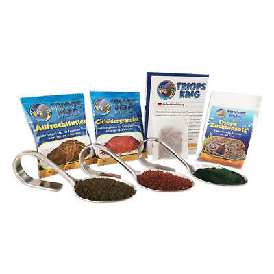 Triops Cancriformis Tadpole Shrimp Starter Kit Ultra feed, eggs and instructions