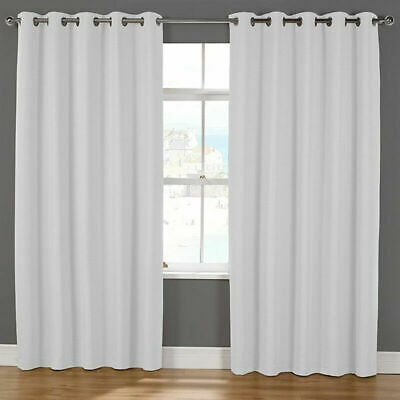 Canadian Linen 100% Washable Polyester Hook-Less Shower Curtains with Clip-ON