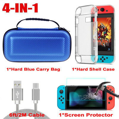 Accessories Case Bag,Shell Cover,Charging Cable,Protector For Nintendo Switch