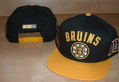 Ccm Boston Bruins 6X Stanley Cup Champions Hockey Snapback Cap Hat