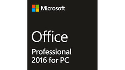 Microsoft Office 2016 Professional Plus Key 32/64 Bit 1 PC Windows Instal 5min