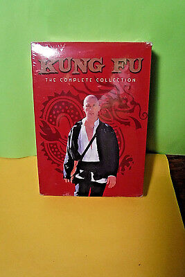New/sealed Dvd Set! Kung Fu The Complete Collection! 62 Episodes On 16 Dvd's!