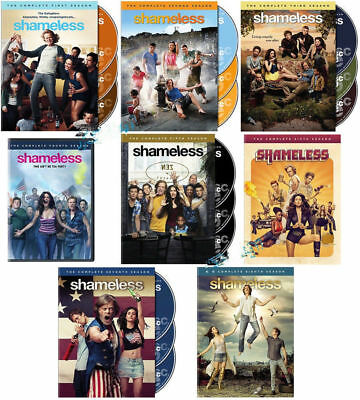 Shameless Complete Series All Season 1-8 DVD  1 2 3 4 5 6 7 8 EXPEDITED SHIPPING