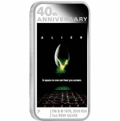 2019 ALIEN 40th ANNIVERSARY Silver Proof Coin