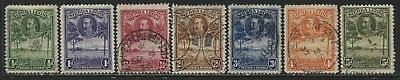 Sierra Leone KGV 1932 1/2d to 5d used