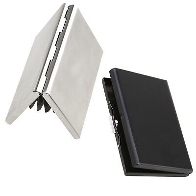 Credit Card Holder Protection Case RFID Blocking Thin Stainless Steel Wallet