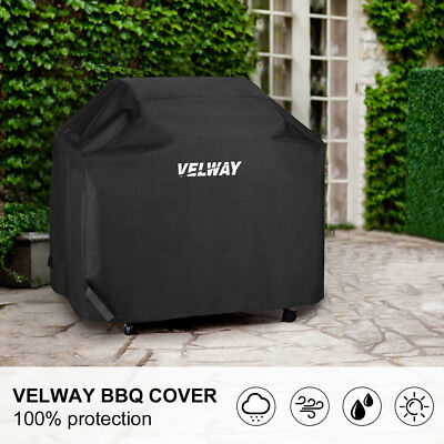 Heavy Duty Gas BBQ Grill Cover Barbecue Weber Char Broil 58-Inch Waterproof New