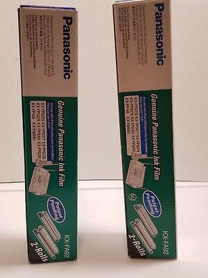 2 Pkgs OEM Genuine Panasonic Ink Film KX-FA92 Replacement Film