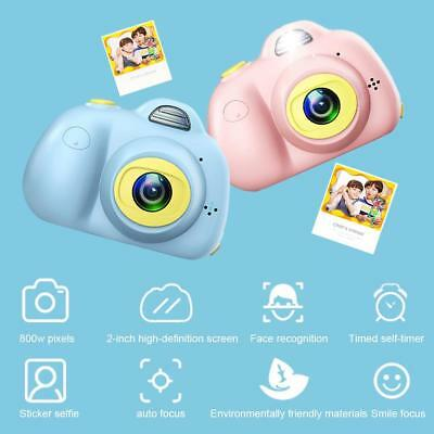 "AU Stock Digital Camera 2.0"" LCD Mini Camera Dual Cameras 8.0MP Kids Children"