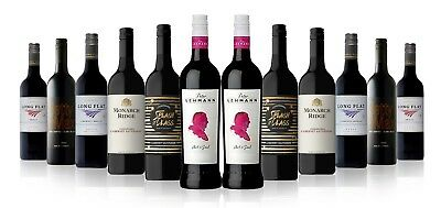 Premium Red Mix Featuring Barossa Valley Peter Lenhamn Shiraz (12x750ml)
