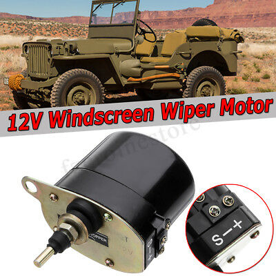 12V Windscreen Wiper Motor for Willys Jeep Tractor 01287358 / 7731000001