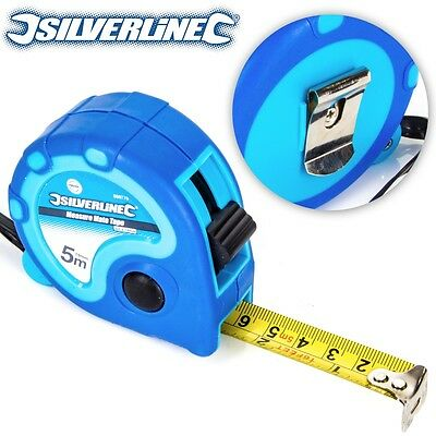 5M/15Ft TAPE MEASURE Professional Imperial/Metric Measuring Marks Pocket Size