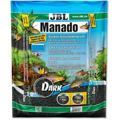 JBL Manado Dark Natural Substrate Plant Growth Granule Root Aquarium Fish Tank
