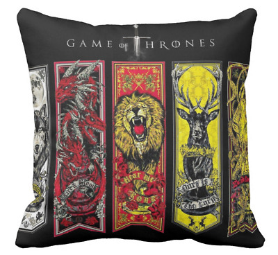 Cuscino Trono Di Spade Game Of Thrones Winter Is Coming - 2