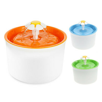1.6L Re-circulating Auto Electric Flower Pet Dog Cat Water Drinking Fountain