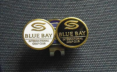 1 only QUALITY  MAGNETIC HAT CLIP WITH 2  GOLF BALL MARKERS
