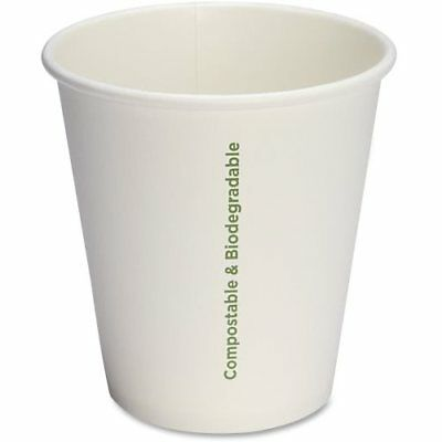 Genuine Joe Eco-friendly Paper Cups, 10 oz, 1000 Cups (GJO10214CT)