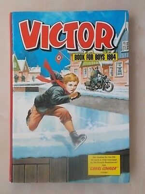 Vintage Victor Book For Boys Annual 1984 - Good Condition