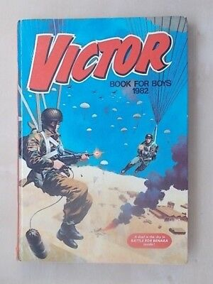 Vintage Victor Book For Boys Annual 1982 - Not Price Clipped