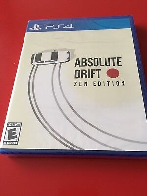 Absolute Drift Zen Edition PS4 - Limited Run - Neuf/New sous blister !!