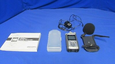 Zoom H4N Handy Recorder w/power adapter, case, manual