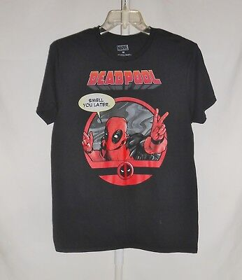 06d3c4fa12bbed Men s Sz. M Marvel Deadpool Short Sleeve Graphic Tee T-Shirt